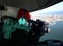 Photo Taking in Helicopter